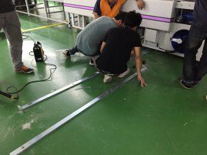 ติดตั้ง เครื่องตัดผ้าอัตโนมัติ เครื่องตัดผ้า