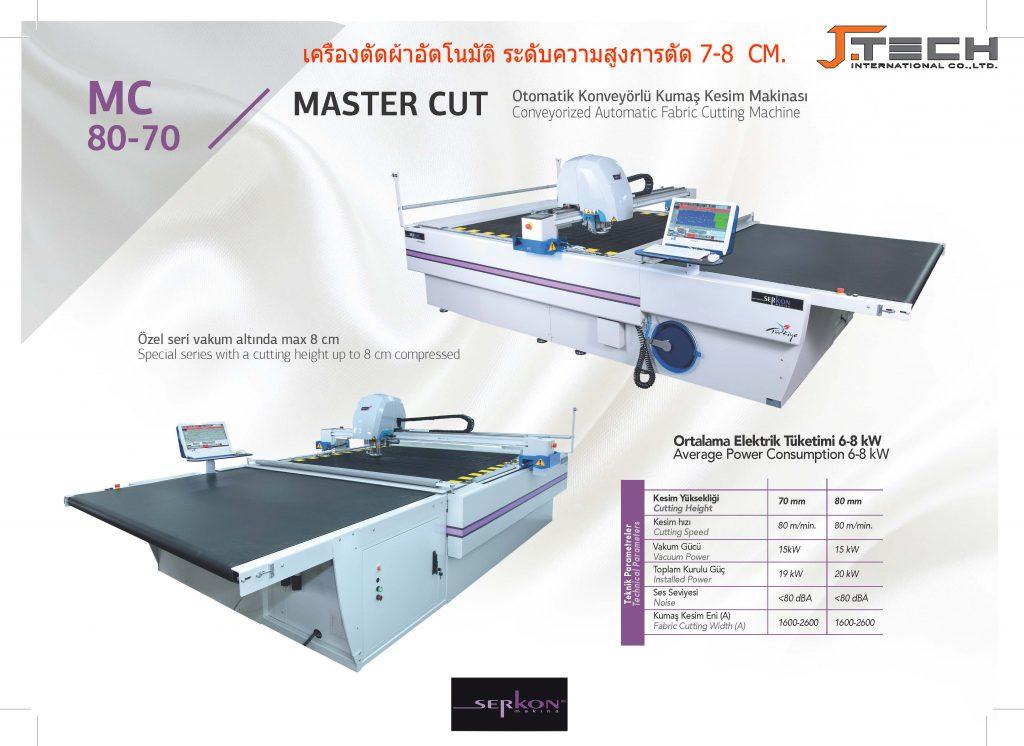 MC70,MC80 CNC AUTO CUTTER