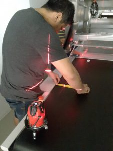 เซ็ตระบบเครื่องตัดผ้าอัตโนมัติ เครื่องปูผ้าอัตโนมัติ
