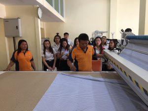 นักศึกษาดูงานโปรแกรมสร้างแพทเทิร์น