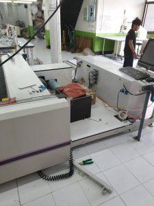 ระบบภายในสายพาน เคร่ื่องตัดผ้าอัตโนมัติ เครื่องตัดผ้า