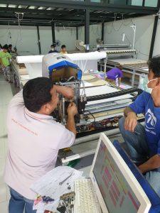 ระบบภายใน เคร่ื่องตัดผ้าอัตโนมัติ เครื่องตัดผ้า