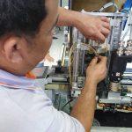 ตรวจสอบระบบ เคร่ื่องตัดผ้าอัตโนมัติ เครื่องตัดผ้า