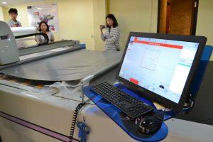 เริ่มระบบการตรวจสอบชิ้นงาน เครื่องตัดผ้า เครื่องตัดผ้าอัตโนมัติ
