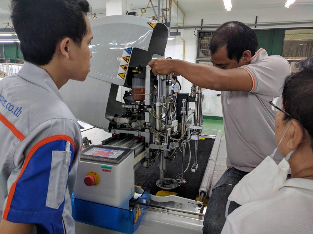 เครื่องตัดผ้า เครื่องตัดผ้าอัตโนมัติ SERKON