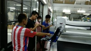 สอนการใช้งานเครื่องตัดผ้าอัตโนมัติ