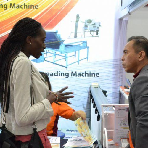 ออกบูธ GFT 2019 วันที่ 4 งานแสดงเครื่องจักรและเทคโนโลยีการผลิตเครื่องนุ่งห่ม โปรแกรมสร้างแพทเทิร์น เกรดไซส์ เครื่องปูผ้าอัตโนมัติ และ เครื่องตัดผ้าอัตโนมัติ
