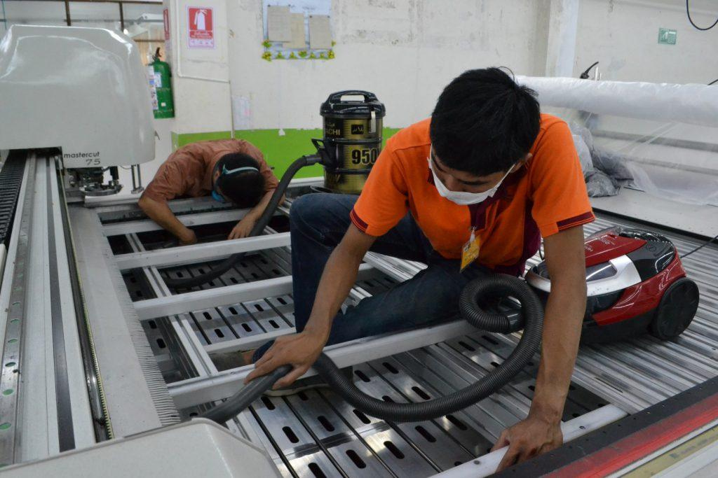การบำรุงรักษาเครื่องตัดผ้าอัตโนมัติ