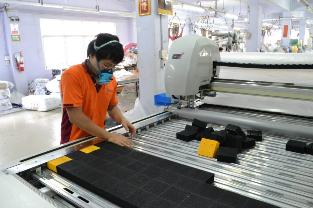 งานบำรุงรักษาเครื่องตัดผ้าอัตโนมัติ